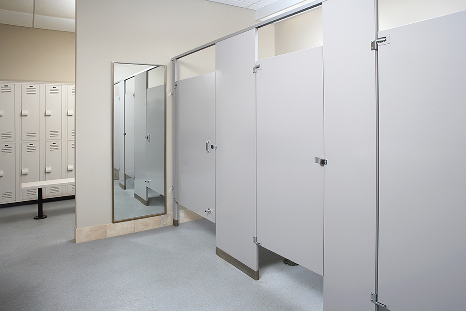 Toilet partitions toronto commercial bathroom partitions for Bathroom partitions